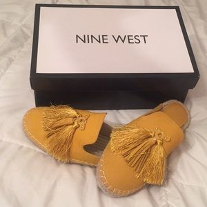 NWOT Nine West Espadrilles